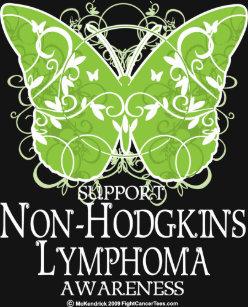 b20d0c8d NonHodgkins Lymphoma Survivor Butterfly Personalized