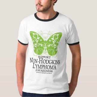 Non-Hodgkins Lymphoma Butterfly T-Shirt