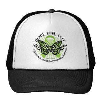 Non-Hodgkins Lymphoma Butterfly Tribal Trucker Hat