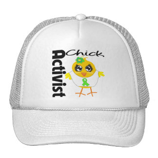 Non-Hodgkin's Lymphoma Cancer Activist Chick Trucker Hat