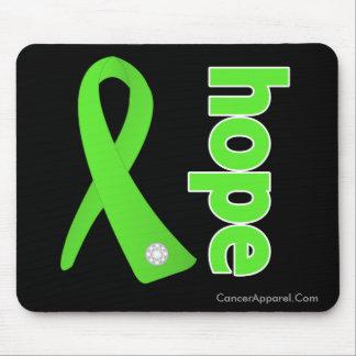 Non-Hodgkins Lymphoma Cancer Hope Ribbon Mouse Pad