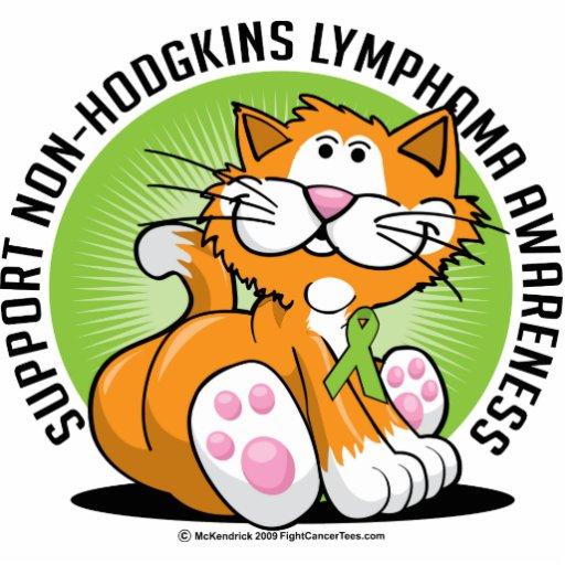 Non Hodgkins Lymphoma Cat Acrylic Cut Out