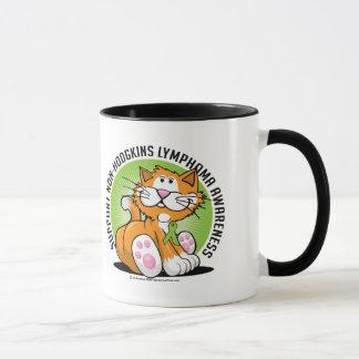 Non Hodgkins Lymphoma Cat Mug