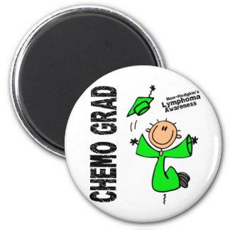 Non-Hodgkins Lymphoma CHEMO GRAD 1 Magnets