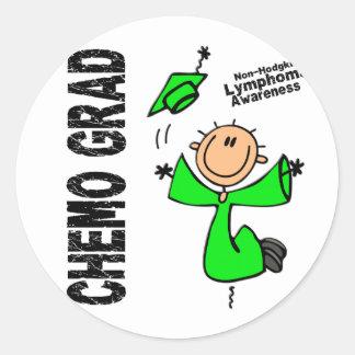 Non-Hodgkins Lymphoma CHEMO GRAD 1 Sticker