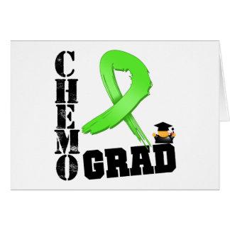 Non-Hodgkins Lymphoma Chemo Grad Greeting Card