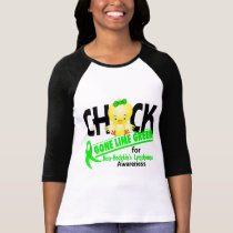 Non-Hodgkin's Lymphoma Chick Gone Lime Green 2 T-Shirt
