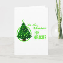 Non-Hodgkins Lymphoma Christmas Miracles Holiday Card