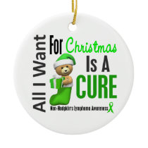 Non-Hodgkin's Lymphoma Christmas Ornaments