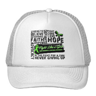 Non-Hodgkin's Lymphoma Collage - Fight Like a Girl Trucker Hat