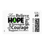 Non-Hodgkins Lymphoma Collage of Hope Stamp