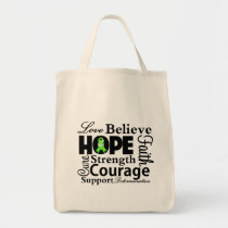 Non-Hodgkins Lymphoma Collage of Hope Tote Bag