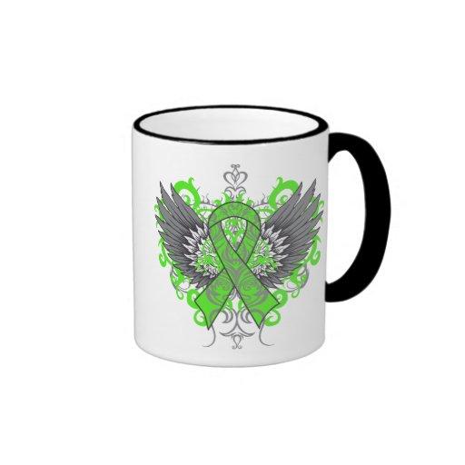 Non-Hodgkins Lymphoma Cool Wings Mugs