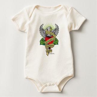 Non-Hodgkins Lymphoma Dagger Baby Bodysuit
