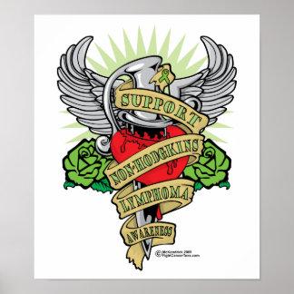 Non-Hodgkins Lymphoma Dagger Poster