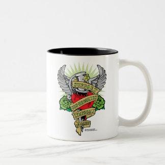 Non-Hodgkins Lymphoma Dagger Two-Tone Coffee Mug