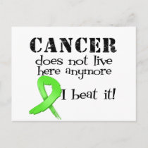 Non Hodgkins Lymphoma Does Not Live Here Anymore Postcard