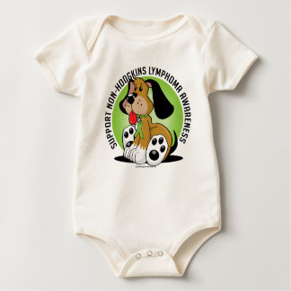 Non-Hodgkins Lymphoma Dog Baby Bodysuit