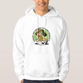 Non-Hodgkins Lymphoma Dog Hoodie