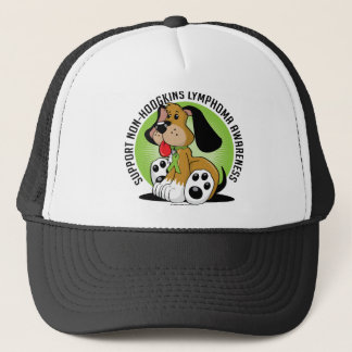Non-Hodgkins Lymphoma Dog Trucker Hat
