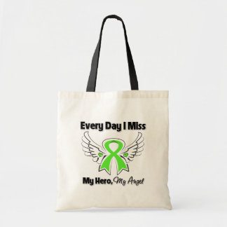 Non-Hodgkins Lymphoma Every Day I Miss My Hero Budget Tote Bag