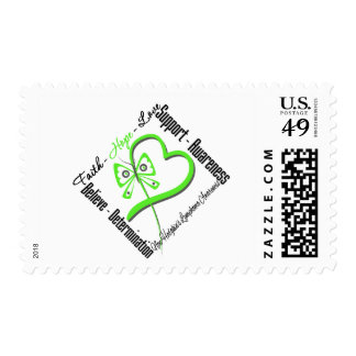 Non Hodgkins Lymphoma Faith Hope Love Butterfly Postage Stamp