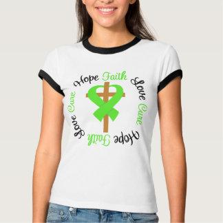 Non-Hodgkins Lymphoma Faith Hope Love Cross Tee Shirts