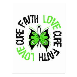 Non-Hodgkin's Lymphoma Faith Love Cure Postcard
