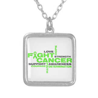 Non-Hodgkins Lymphoma Fight Collage Custom Necklace