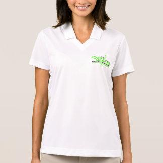 Non-Hodgkins Lymphoma Fight Collage Polo Shirt