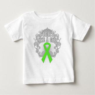 Non-Hodgkins Lymphoma Fight Like A Girl Fleurish Infant T-shirt
