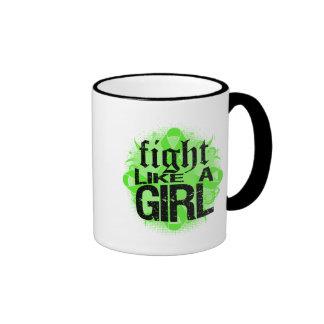 Non-Hodgkin's Lymphoma Fight Like A Girl Rock Ed. Coffee Mug