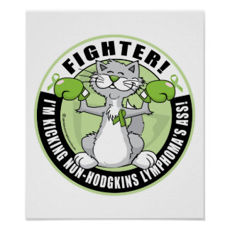 Non-Hodgkins Lymphoma Fighter Poster