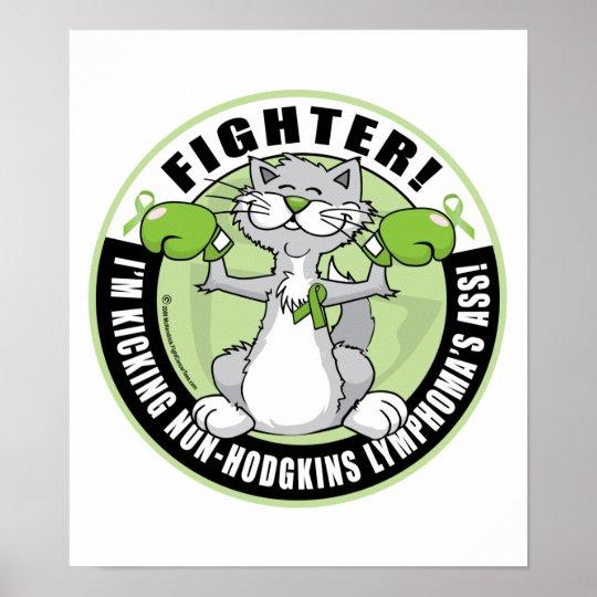 Non-Hodgkins Lymphoma Fighter Poster