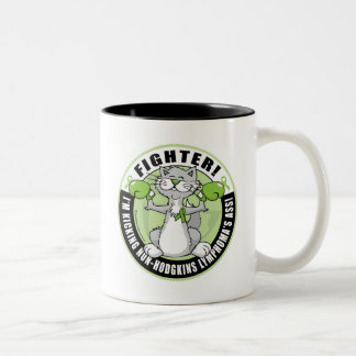 Non-Hodgkins Lymphoma Fighter Two-Tone Coffee Mug