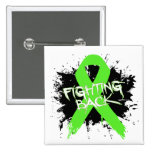 Non-Hodgkins Lymphoma - Fighting Back Pinback Button
