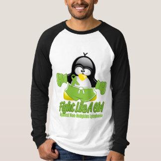 Non Hodgkin's Lymphoma Fighting Penguin T-Shirt
