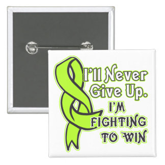Non-Hodgkins Lymphoma Fighting To Win 2 Inch Square Button