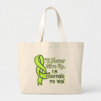 Non-Hodgkins Lymphoma Fighting To Win Large Tote Bag