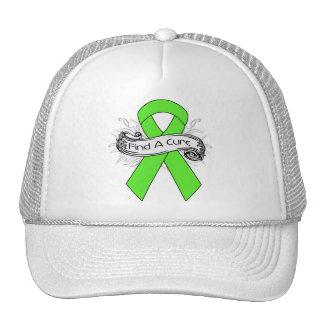 Non-Hodgkins Lymphoma Find A Cure Ribbon Hats