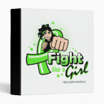 Non-Hodgkin's Lymphoma Fist - Fight Like a Girl Binders