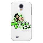 Non-Hodgkin's Lymphoma Fist - Fight Like a Girl Galaxy S4 Cases