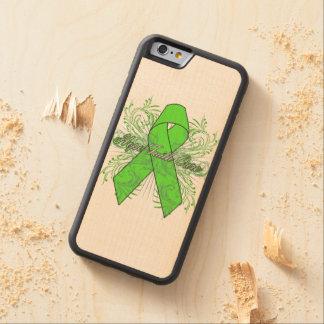 Non-Hodgkins Lymphoma Flourish Hope Faith Cure Carved® Maple iPhone 6 Bumper Case