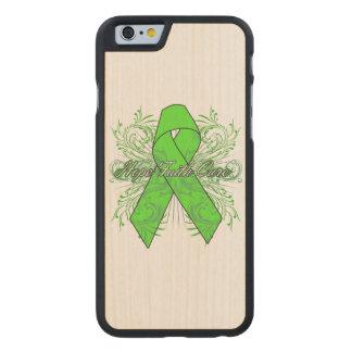 Non-Hodgkins Lymphoma Flourish Hope Faith Cure Carved® Maple iPhone 6 Slim Case