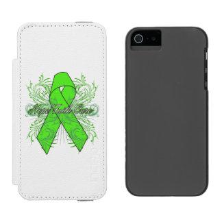 Non-Hodgkins Lymphoma Flourish Hope Faith Cure Incipio Watson™ iPhone 5 Wallet Case