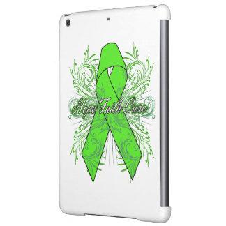Non-Hodgkins Lymphoma Flourish Hope Faith Cure iPad Air Cases