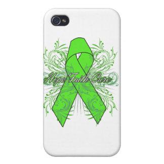 Non-Hodgkins Lymphoma Flourish Hope Faith Cure iPhone 4/4S Case