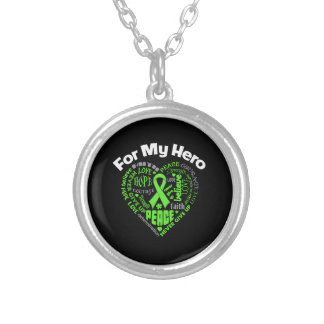 Non-Hodgkins Lymphoma For My Hero Necklaces