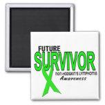 Non-Hodgkins Lymphoma Future Survivor Refrigerator Magnets