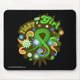 Non-Hodgkin's Lymphoma Groovy Fight Like A Girl Mouse Pad